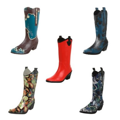 Cowboy Boot Galoshes - Galoshes For Women