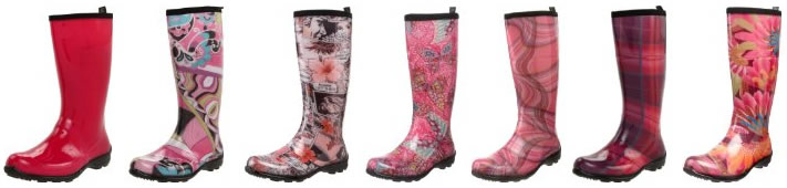 Pink Rain Boots By Kamik